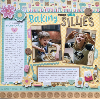 Baking with the Sillies