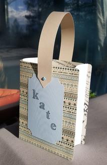 Book-shaped Gift Bag