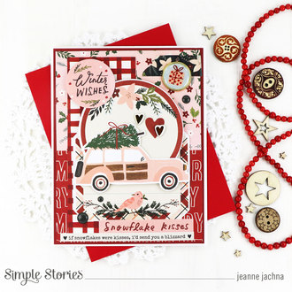 Winter Wishes Snowflake Kisses