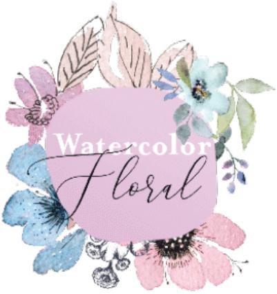 Watercolor Floral Prima