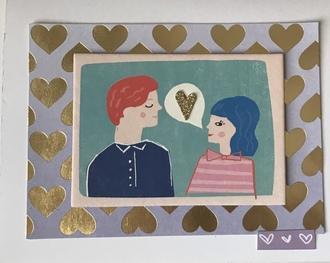 2021 2 heart card