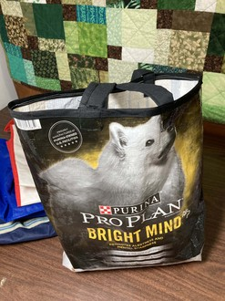 Grocery Bag from Pet Supplies