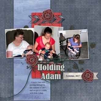 Holding Adam