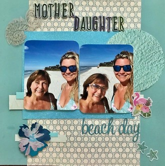 Mother Daughter Beach Day