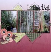 I think that I...