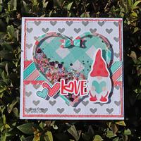 Love Gnome Valentine's Card