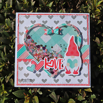 Love Gnome Valentine's Card