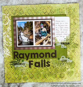Tips for Using Glass Bead Gel on a Scrapbook Layout