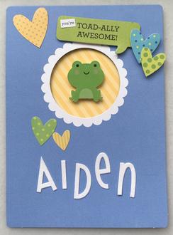 Aiden's Valentine's Day Card 2021