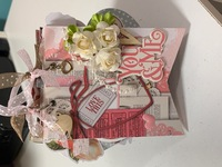 Valentine Tag Book