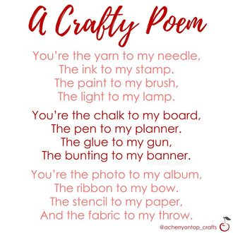 A Crafty Poem