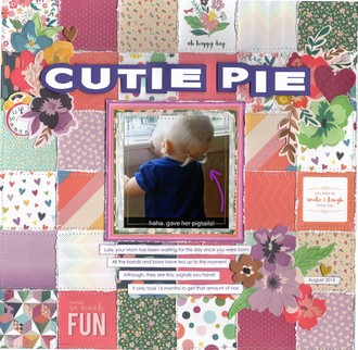 Cutie Pie - Pigtails/Lula 2016