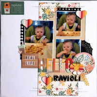 Hello Ravioli (Feb 2021 Becky Fleck Sketch # 211 and Motivational Challenge # 26