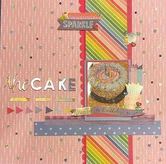 2020 Birthday Cake