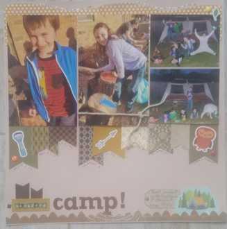 Backyard camp