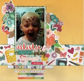 Sticker Sneeze/Lula 2016