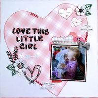 love this little girl (Feb 2021 Motivational Challenge # 32)
