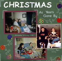 christmas as years gone by