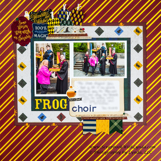 Hogwarts Frog Choir in the Wizarding World of Harry Potter, Universal Orlando Sc