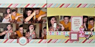 Drew & Lizzie Baking - 2010