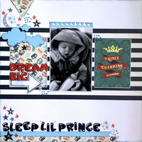 Sleep Lil Princess (Feb 2021 Motivational Challenge # 3)