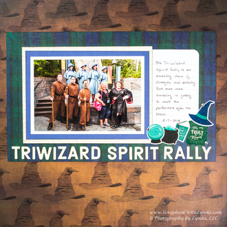 Triwizard Spirit Rally, Hogsmeade, Wizarding World of Harry Potter at Universal