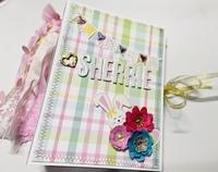 Easter Themed Embellishment Book
