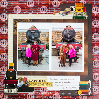Hogwarts Express Train Conductors at the Wizarding World of Harry Potter, Univer