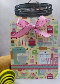 Doodlebug recipe holder
