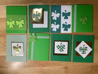 St. Patrick's Day cards -
