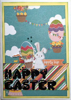 Happy Easter (March 2021 Card Challenge)