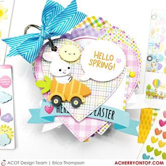 Easter Heart Mini Album