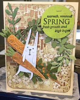 Spring/ March card challenge