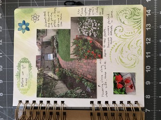 Garden Journal -  first page