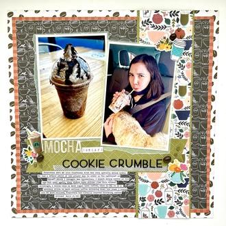 Mocha Cookie Crumble