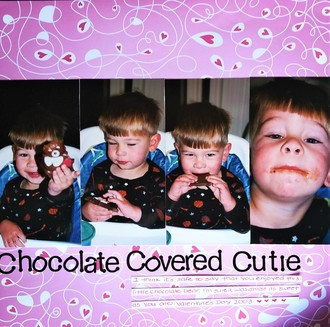 Chocolate Covered Cutie
