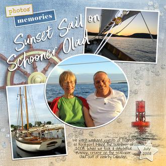 Olad Sunset Sail