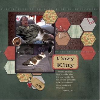 Cozy Kitty