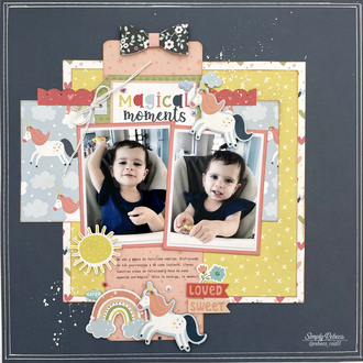 Magical Memories Layout
