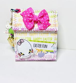 Easter mini backpack