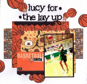 Lucy for the Layup!