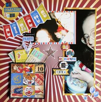 My Amazing 23rd Circus Birthday Party