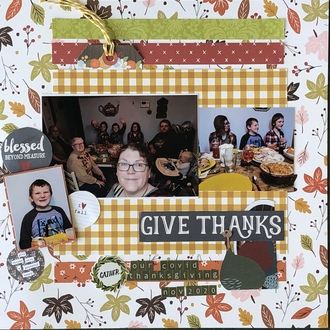 Give Thanks/ Scraplift the Cherry