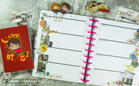 Harry Potter Before the Pen Planner Spread