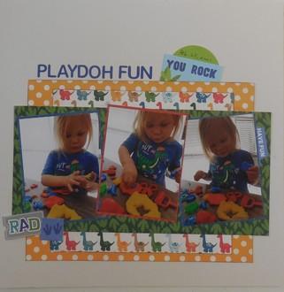 Playdoh Fun