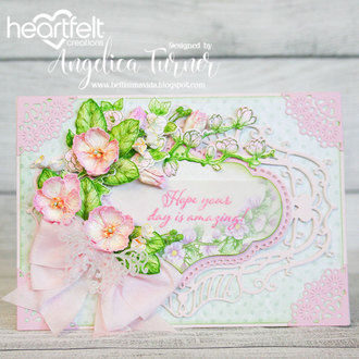 Sweet Magnolia Birthday Card