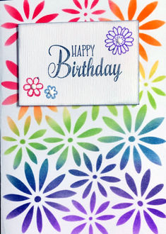 Happy Birthday (April 2021 Card Challenge)