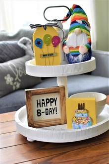 Birthday Tier Tray
