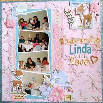 Showering Linda