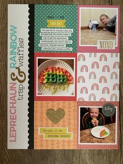 Leprechauns and Rainbow Waffles